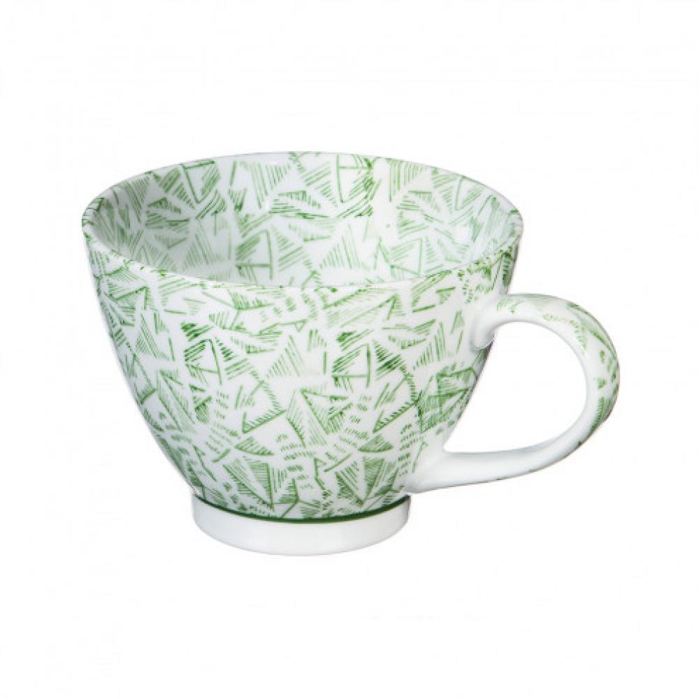 Dinnerware - 15oz Cup Green Jasmine