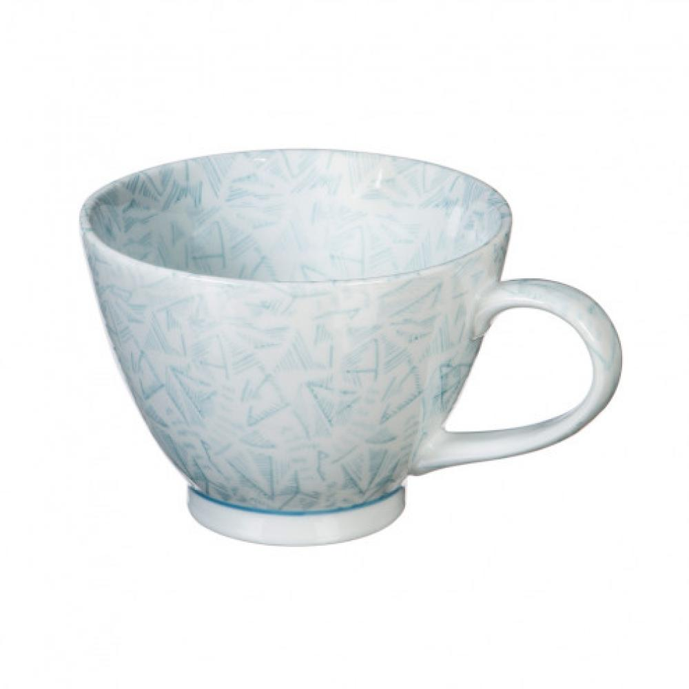 Dinnerware - 15oz Cup Light Blue Jasmine