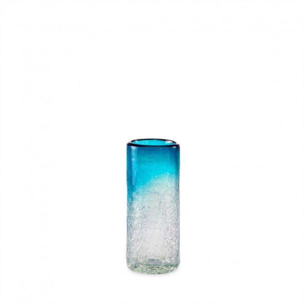 Dinnerware - Shot Glass Recycled Maya Aquamarine 2oz