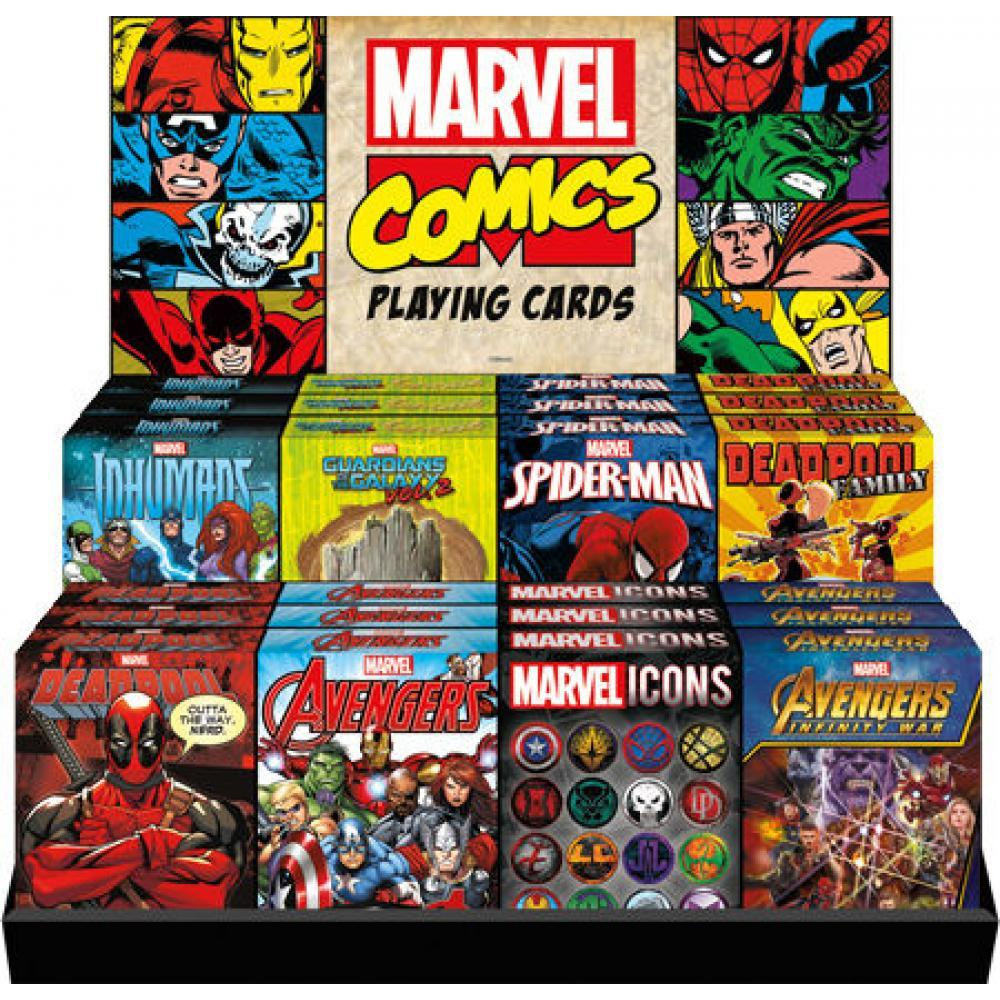 Playing Cards Marvel Comics Assortment