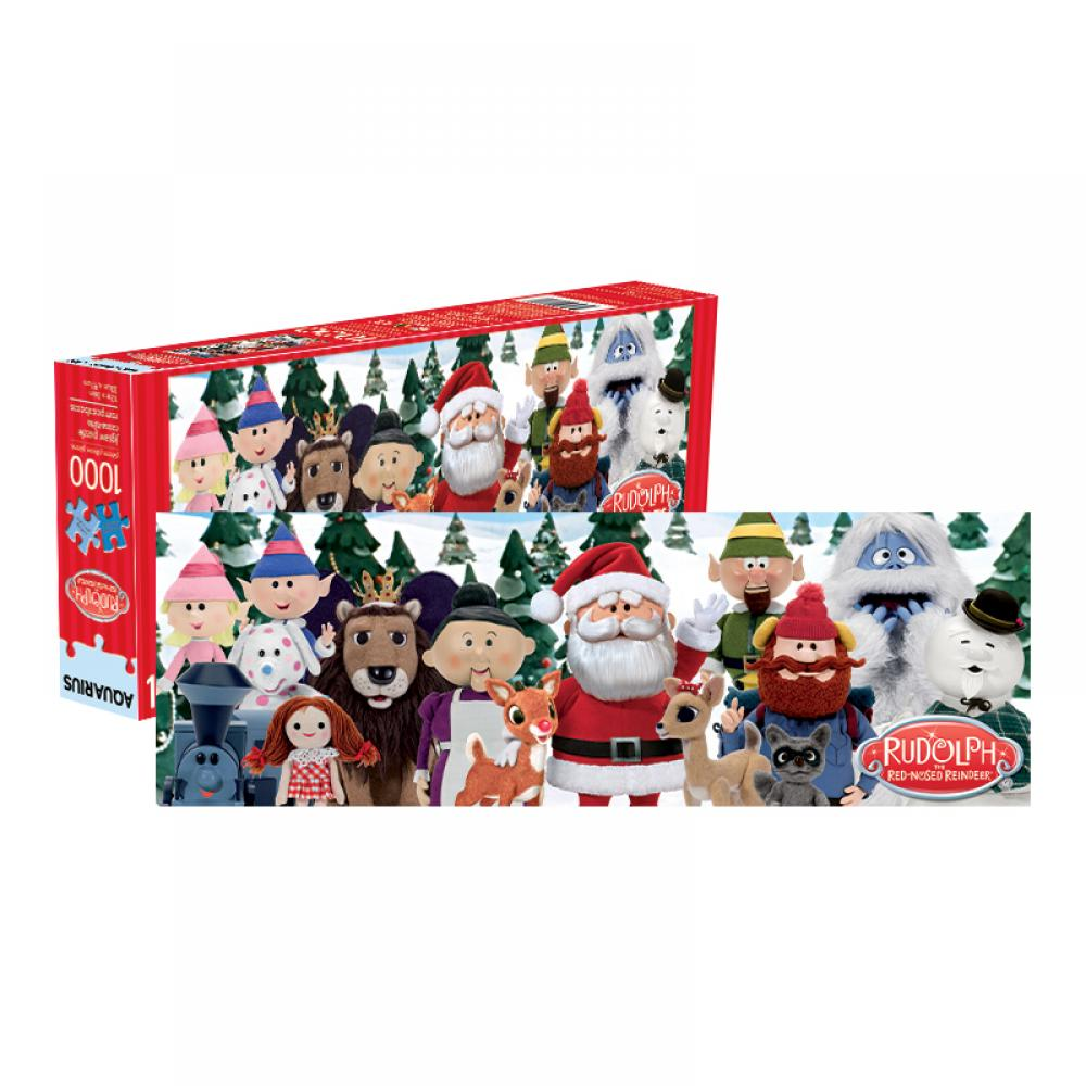 1000 Piece Puzzle Holiday Rudolph