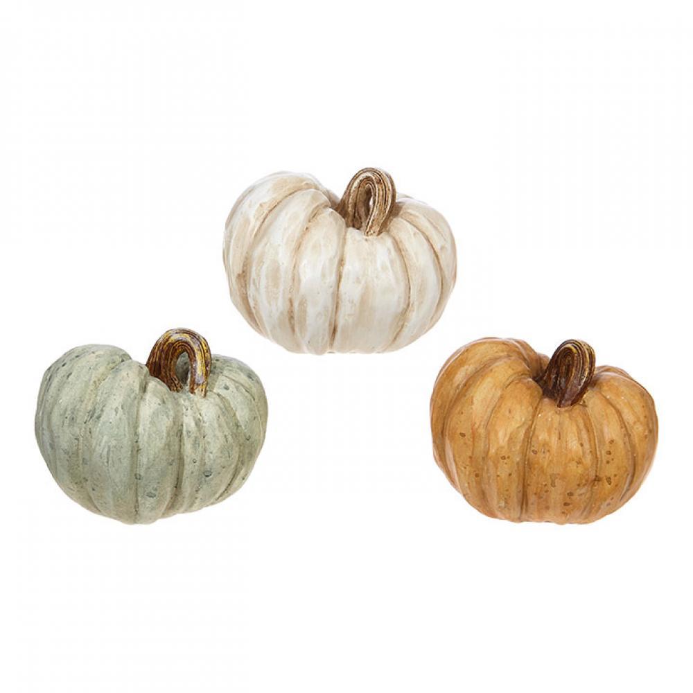 Decor - Pumpkin 4.5in
