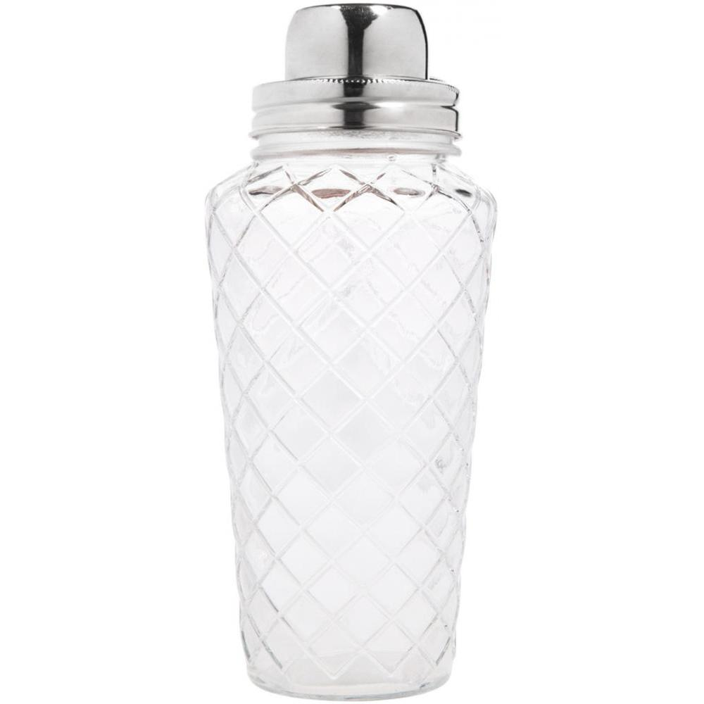 Diamond Shaker with Silver Lid 25 Oz