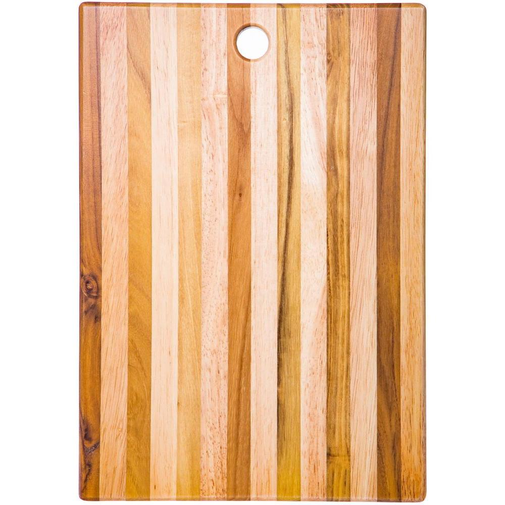 Cutting Board Wood Teak 15inL