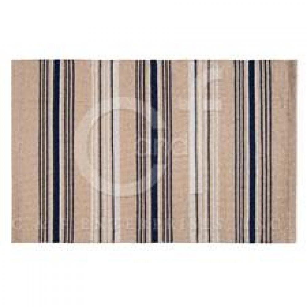 Rug 2ft X 3ft French Blue Stripes
