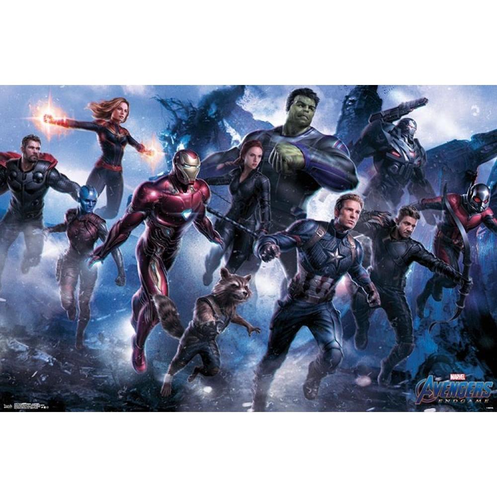 Avengers Endgame 24inx36in Poster