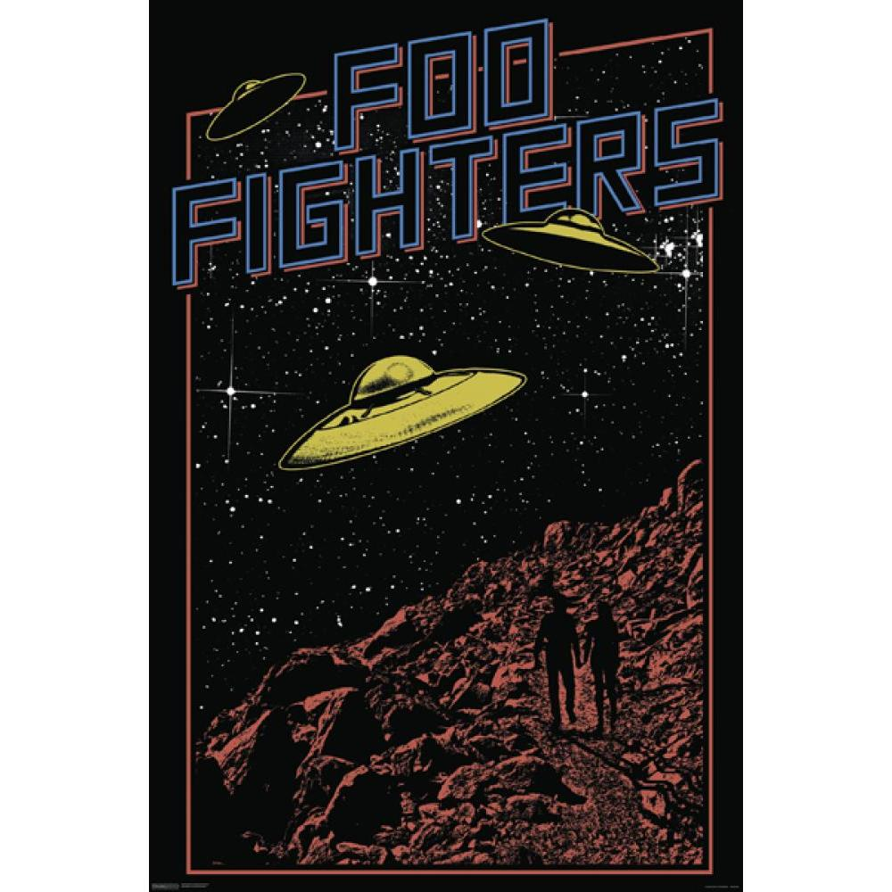 Foo Fighters 24inx36in  Poster
