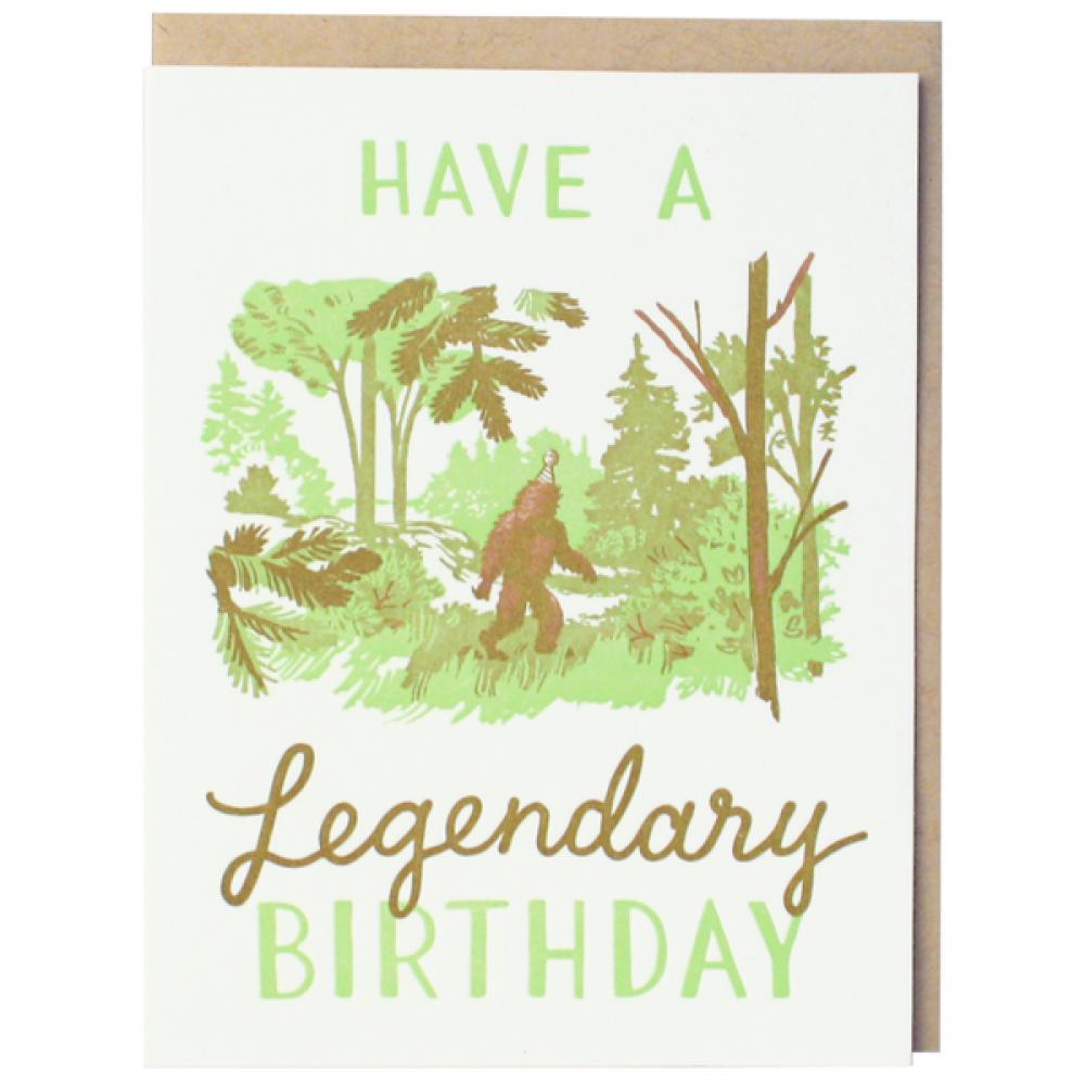Birthday - Legendary Sasquatch