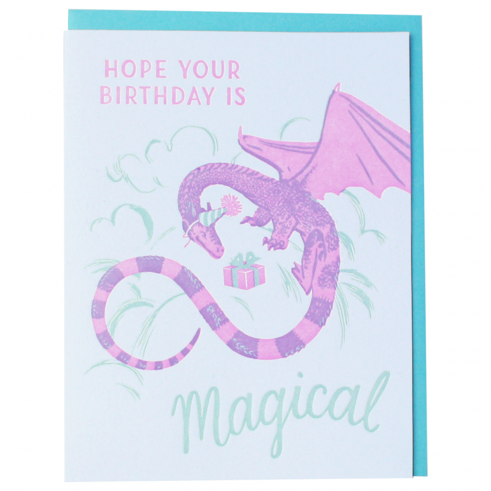 Birthday - Happy Dragon