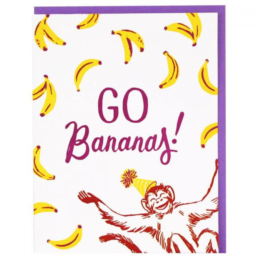 Birthday - Monkey and Bananas