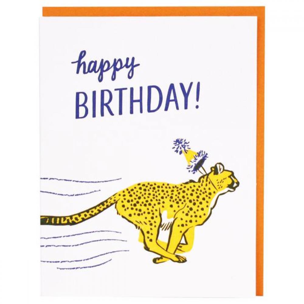 Birthday - Cheetah