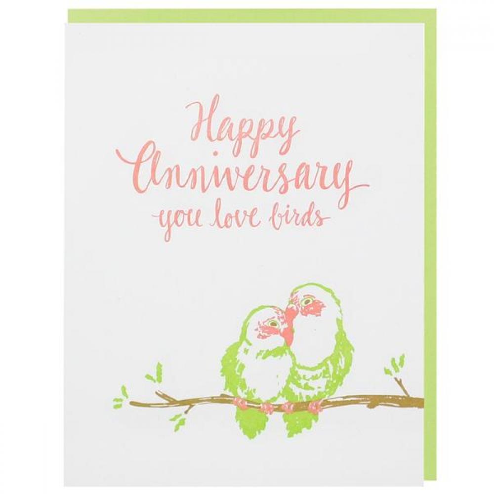 Anniversary - Love Birds