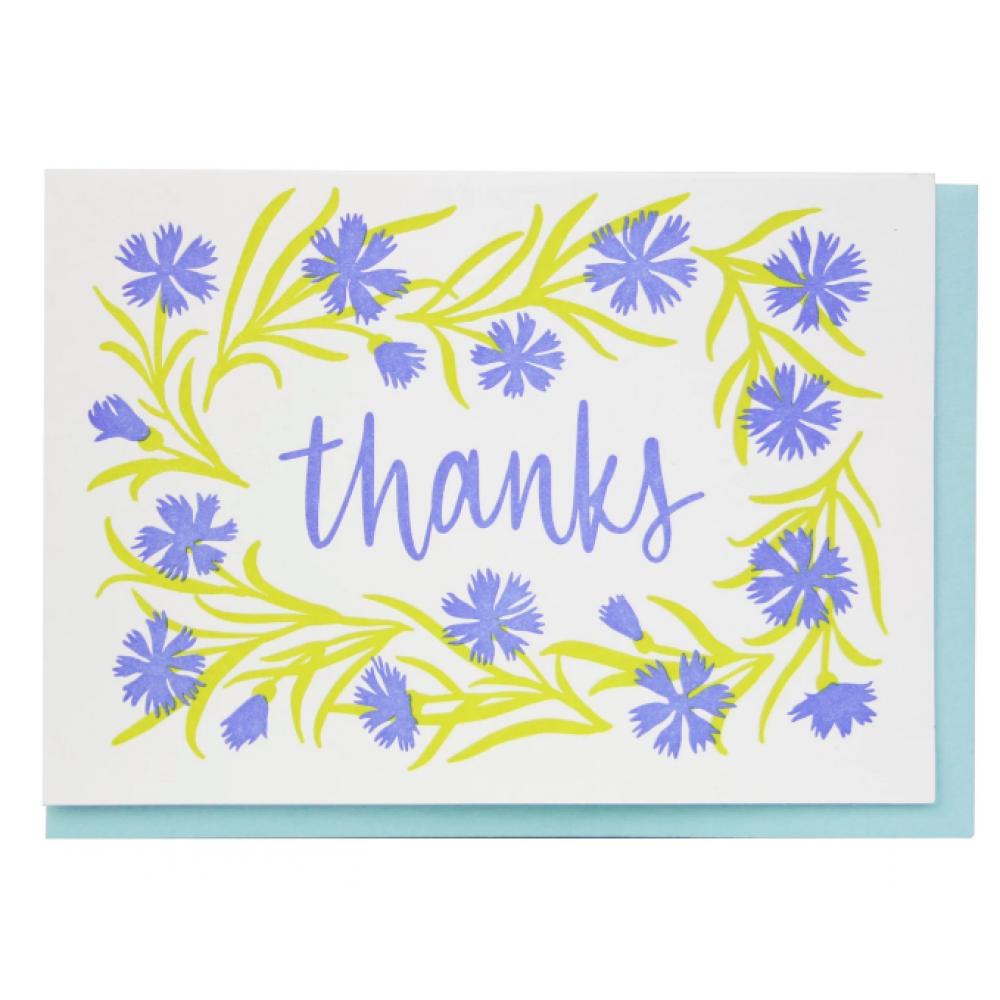 Thank You - Cornflower