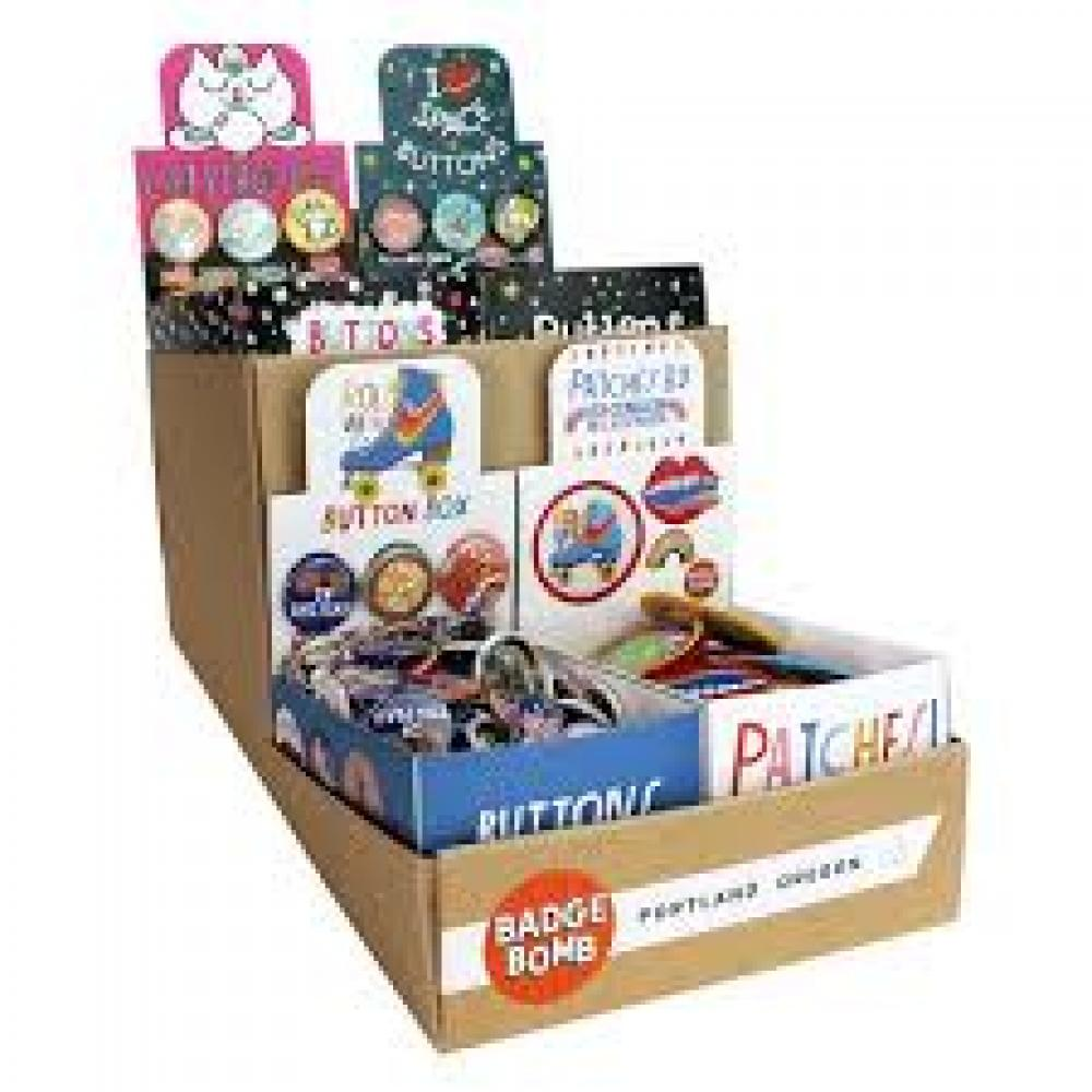 Button Box - Display of 4