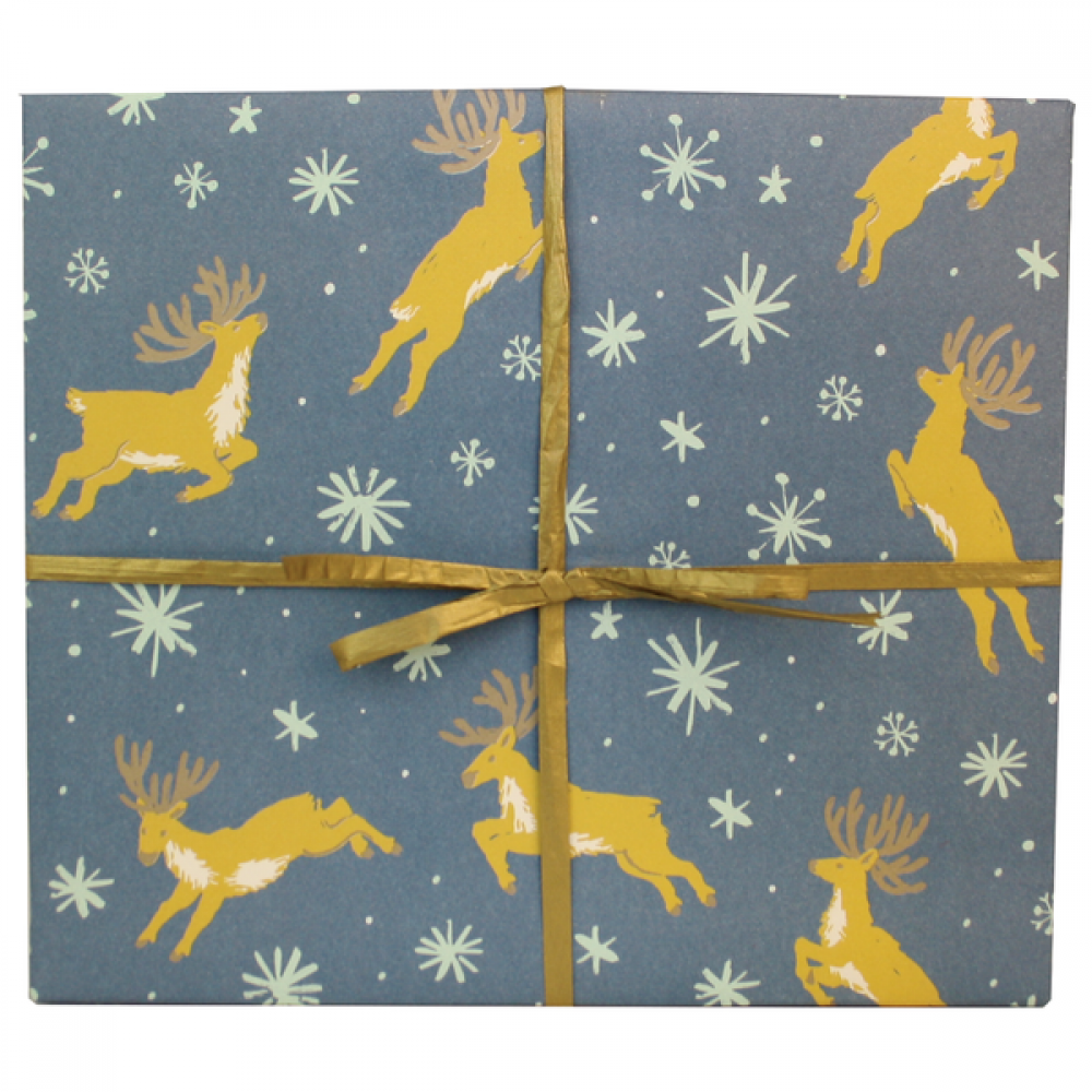 Gift Wrap - Christmas - Reindeer 2 Sheets