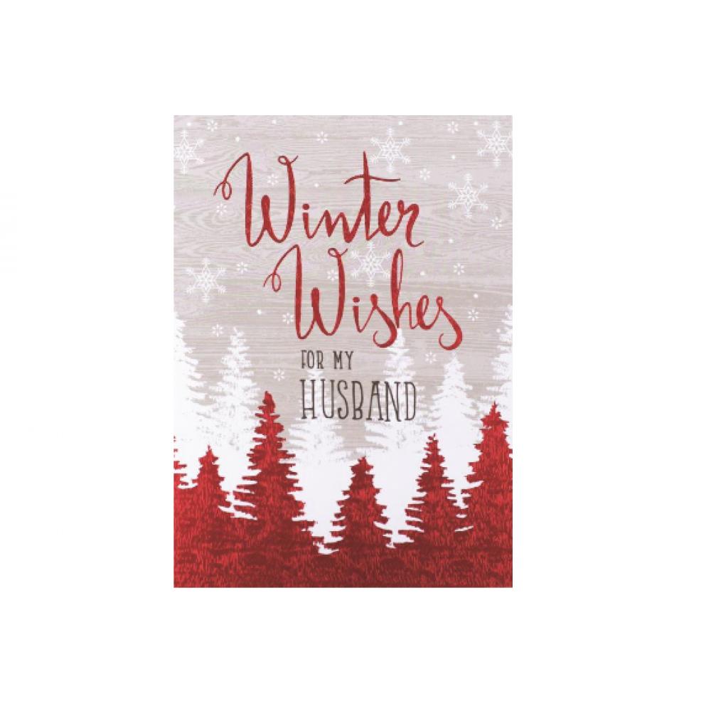 Christmas - Winter Wishes Husband