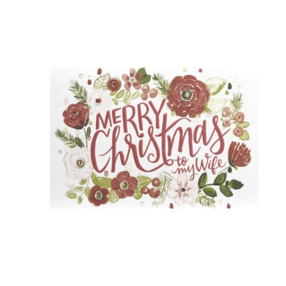 Christmas - Merry Christmas Florals