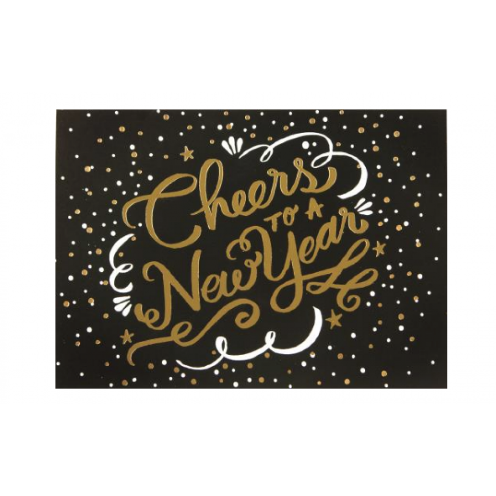New Year - Cheers To A New Year