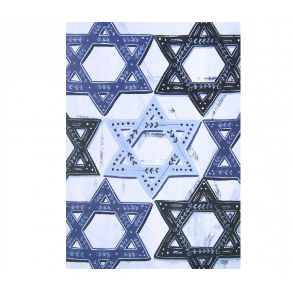 Hanukkah - Painterly Star Of David