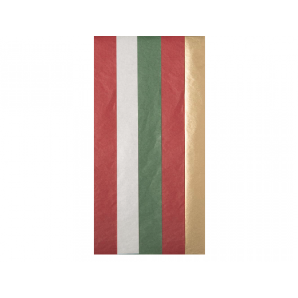 Tissue Paper - Holiday Mix Multi Color Pack