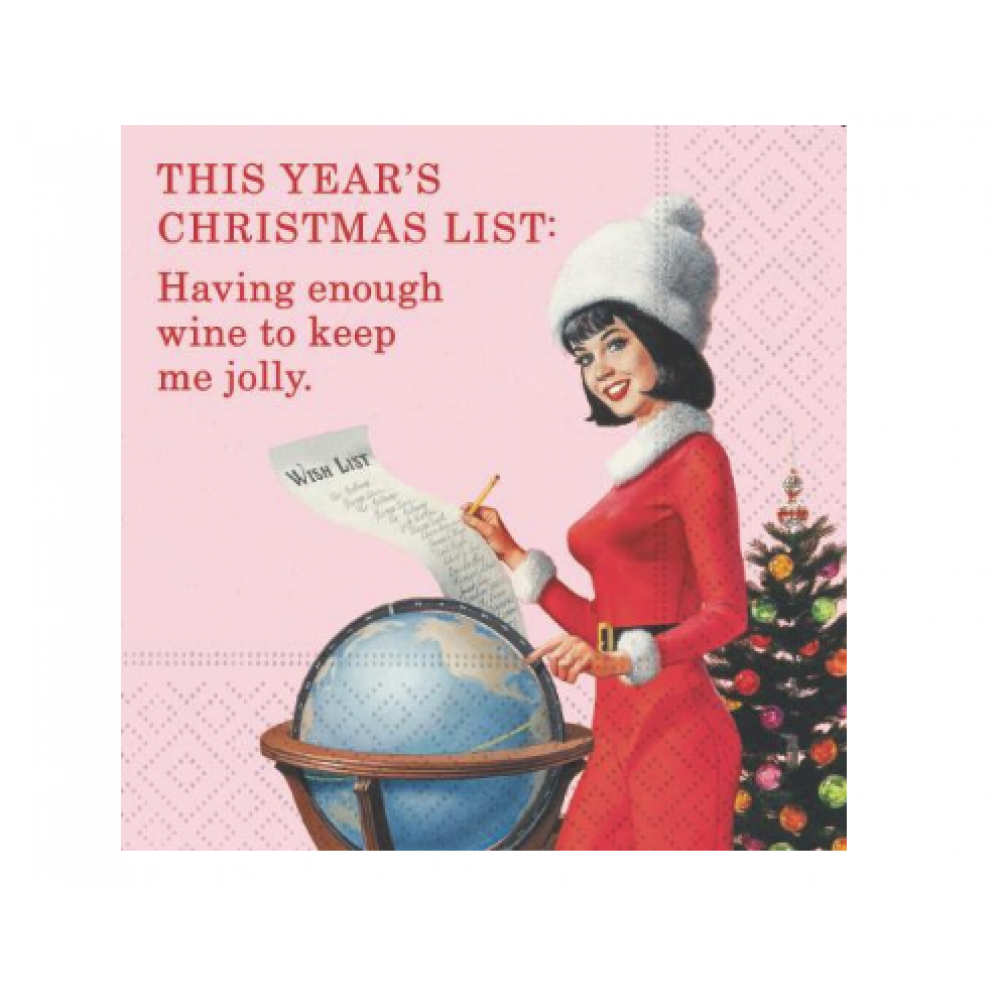 Napkin - Beverage - This Years Christmas