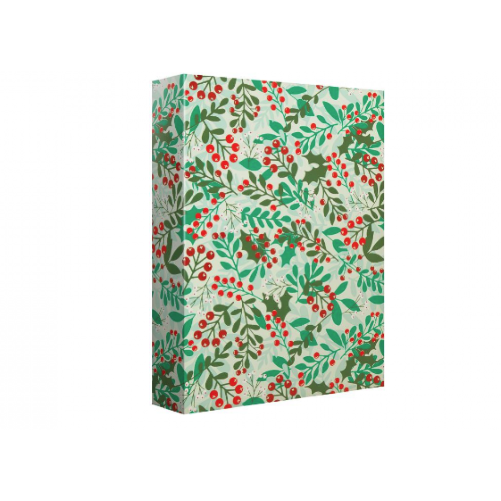 Gift Wrap - Christmas - Greenery and Berries