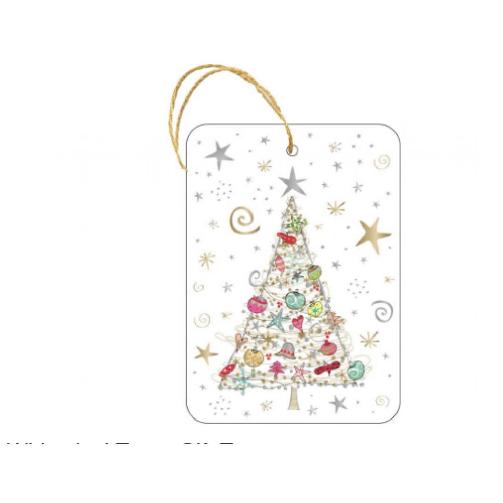 Gift Tag - Whimsical Trees