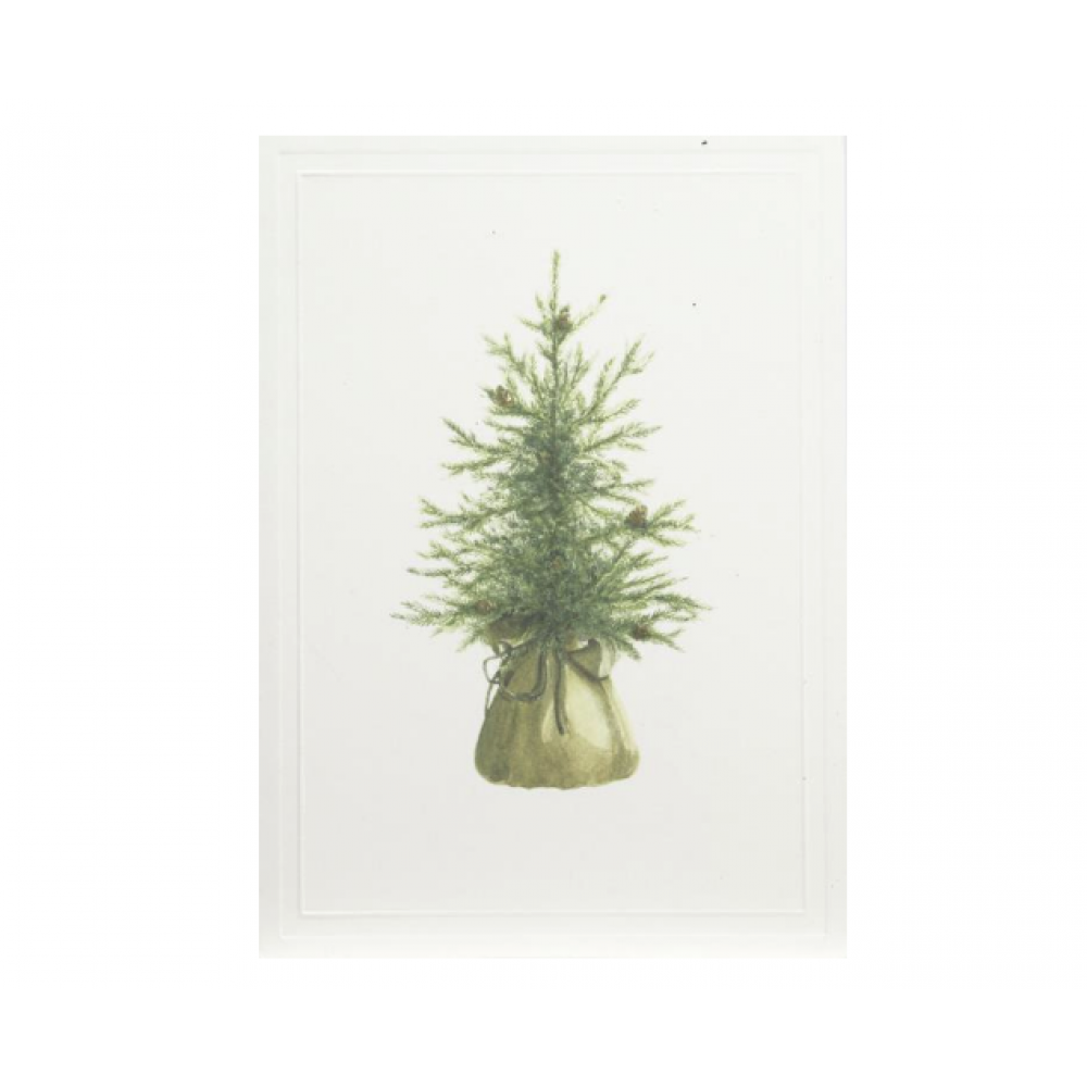 Boxed Card - Christmas - Bundled Christmas Tree