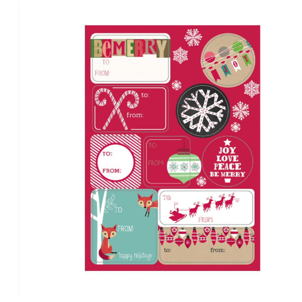 Gift Labels - Holiday Fun Sheet