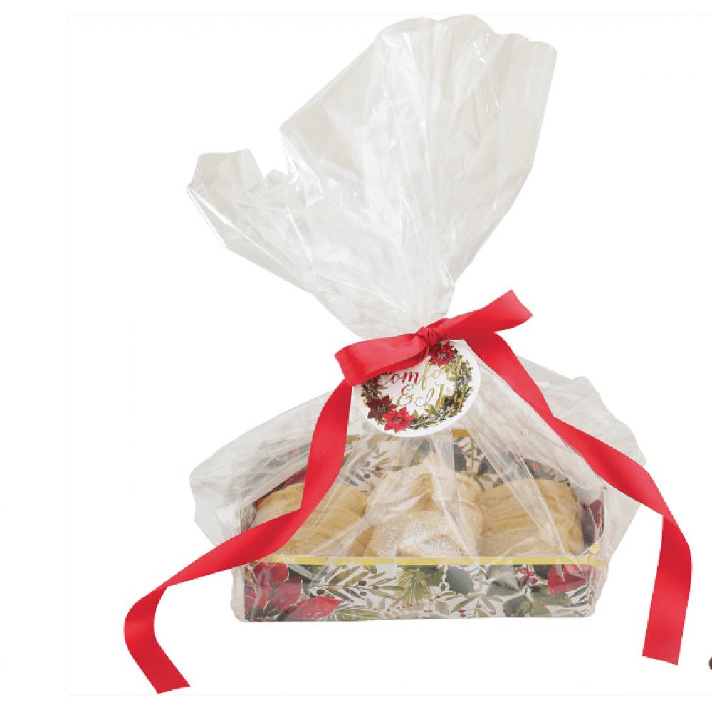 Gift Bag - Winter Garden Cookie Tray & Cello Bag