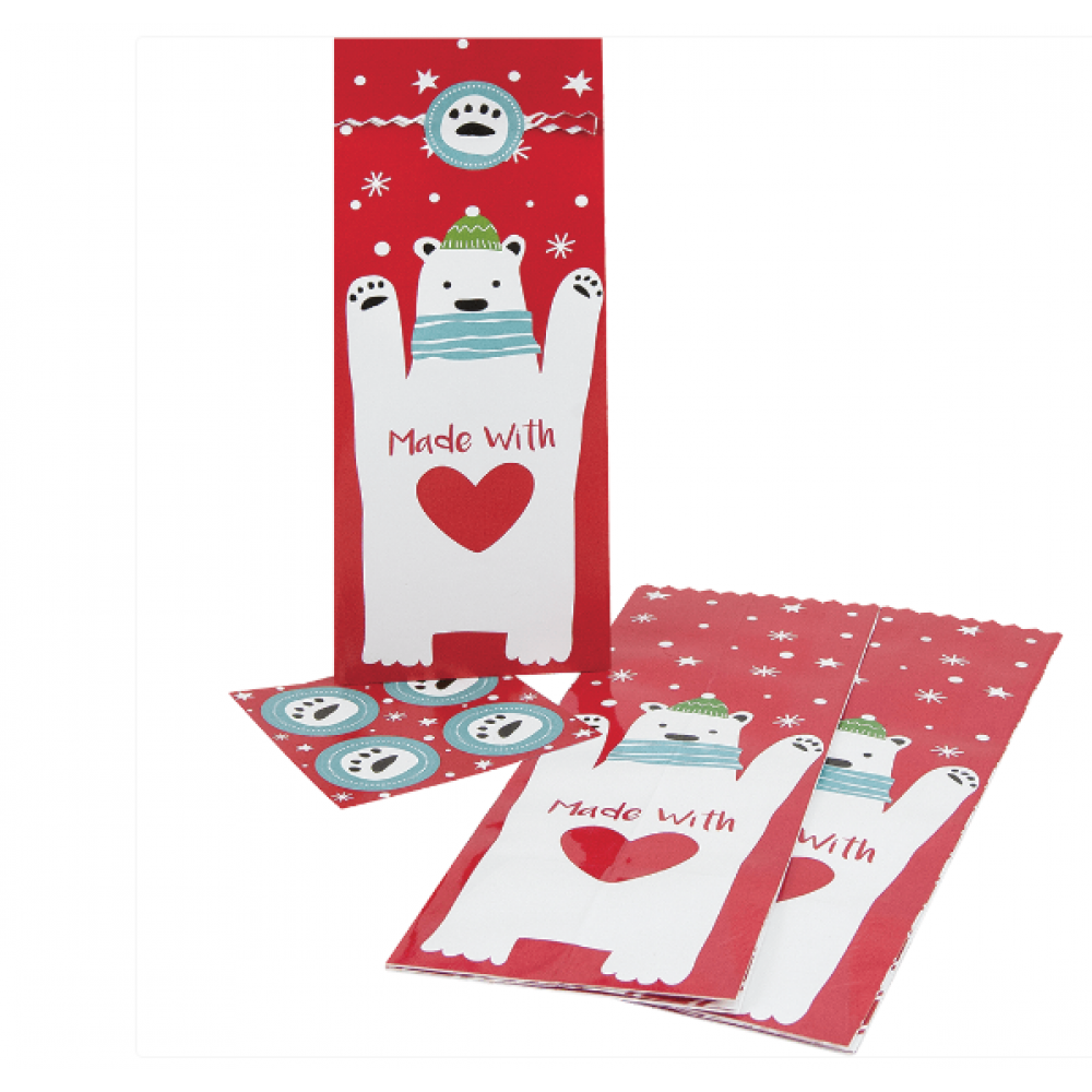 Gift Bag - Berry Merry Treat Sleeves