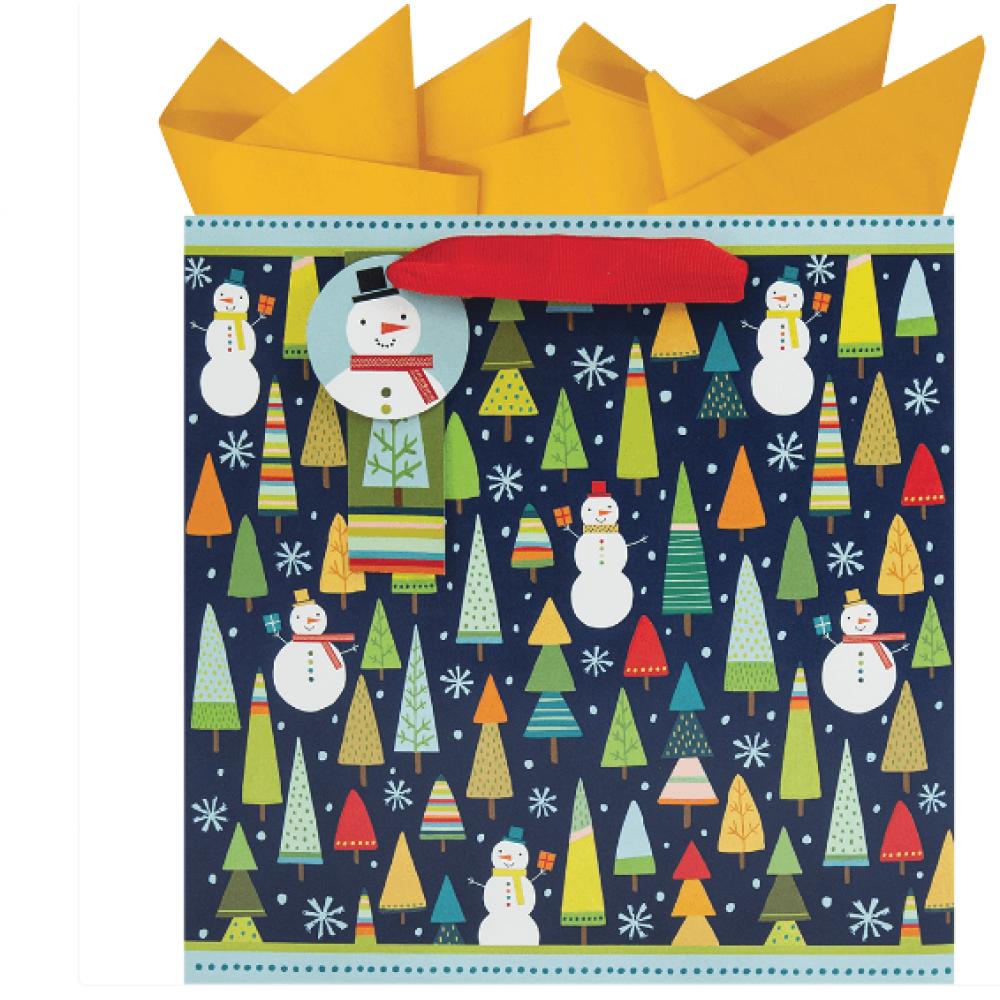 Gift Bag - Whimsical Woods Medium Square