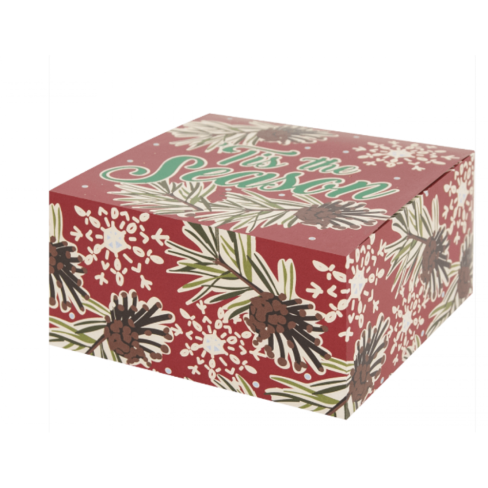 Gift Box - Pinecone and Flakes - Jewelry