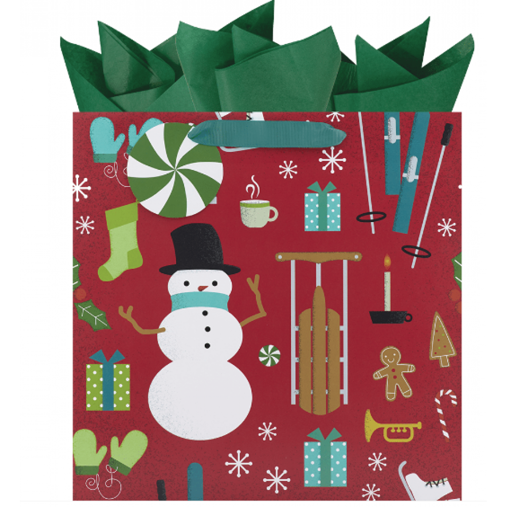 Gift Bag - Festive Findings Large Square