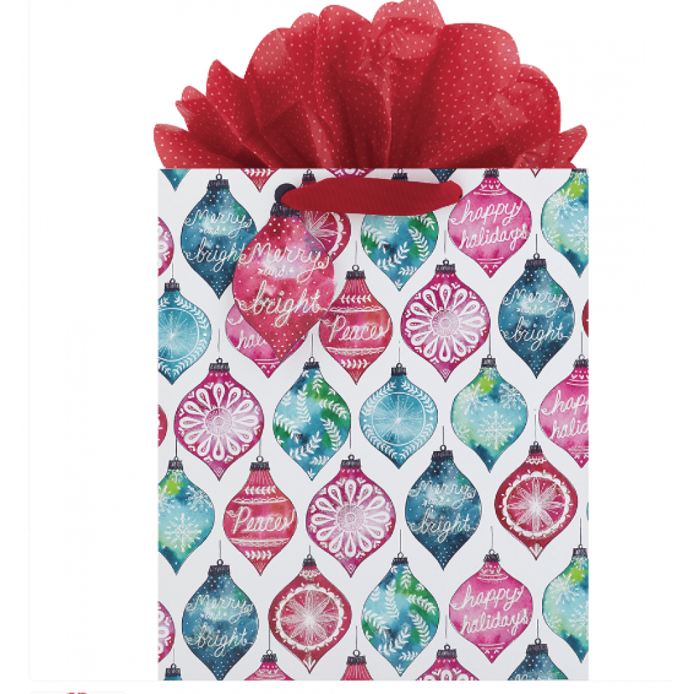 Gift Bag - Ornamented Style Large