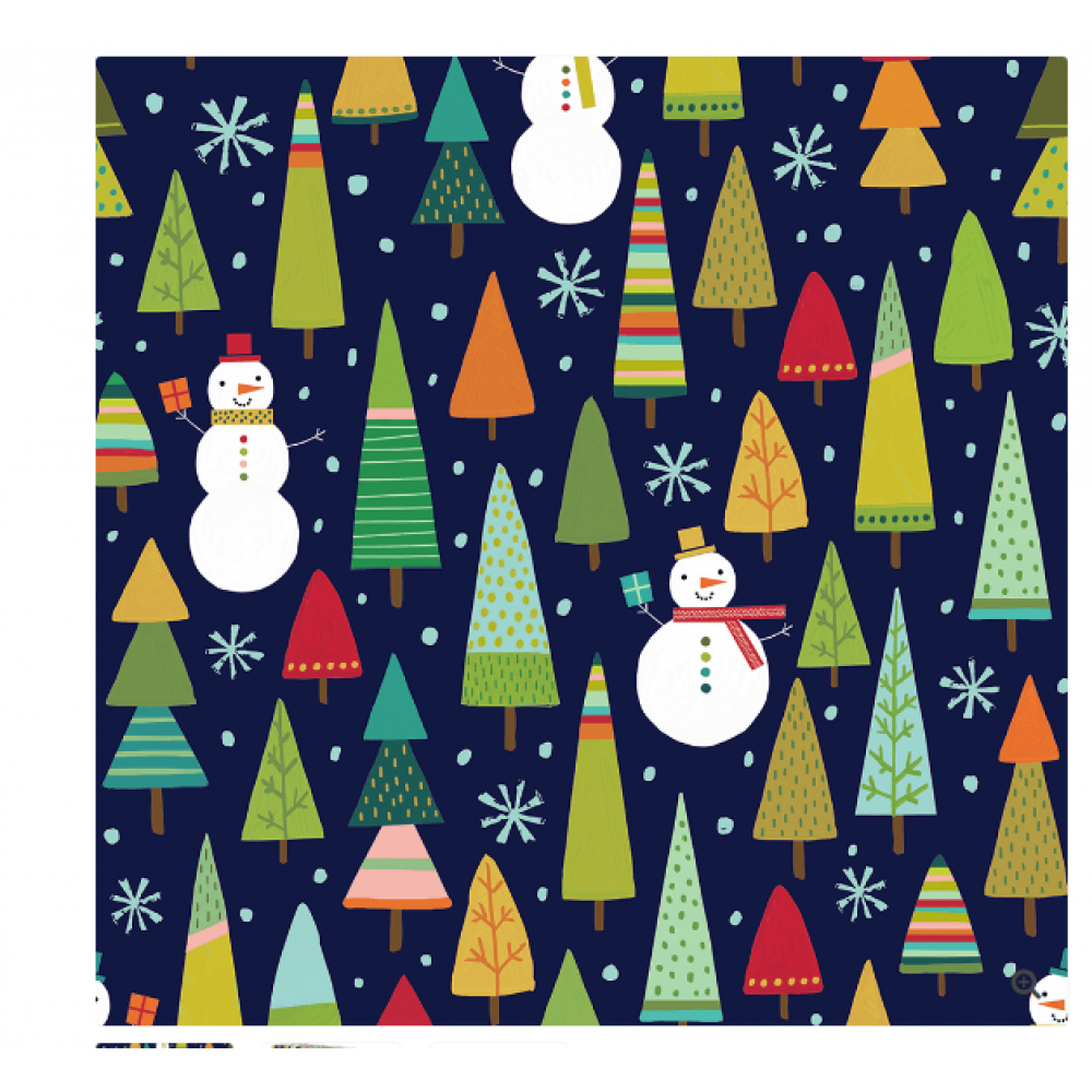 Gift Wrap - Whimsical Woods 10\'