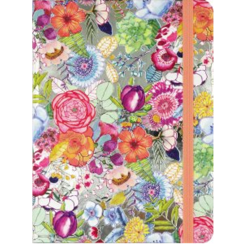 Journal -  Midsize Bright Blossoms