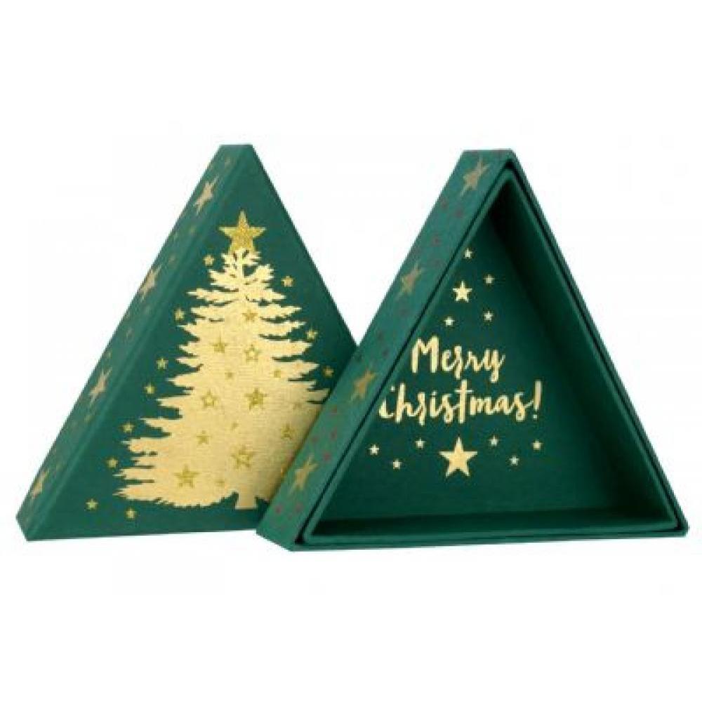 Gift Box - Christmas Tree Green