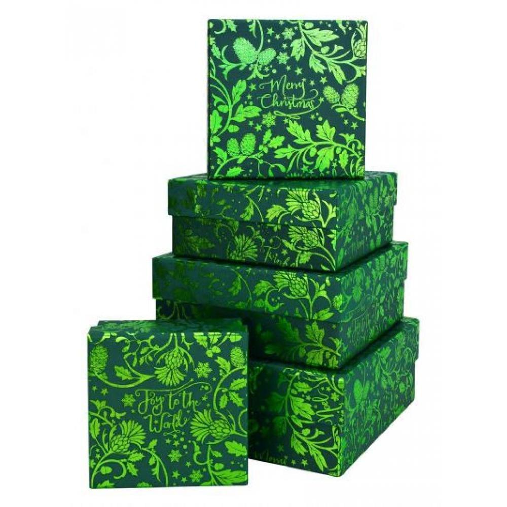 Gift Box - Green Joy World Square
