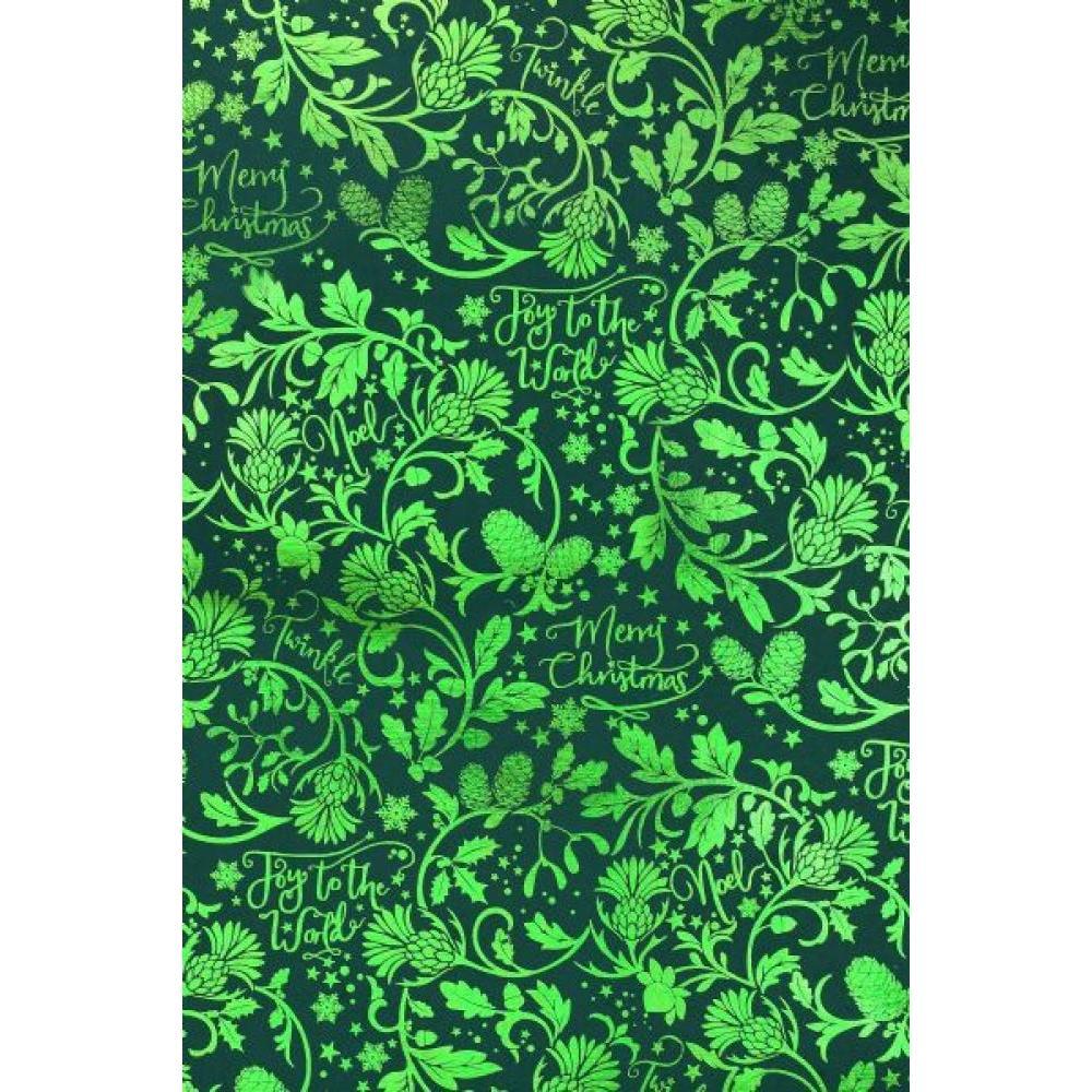 Gift Wrap - Joy World Green