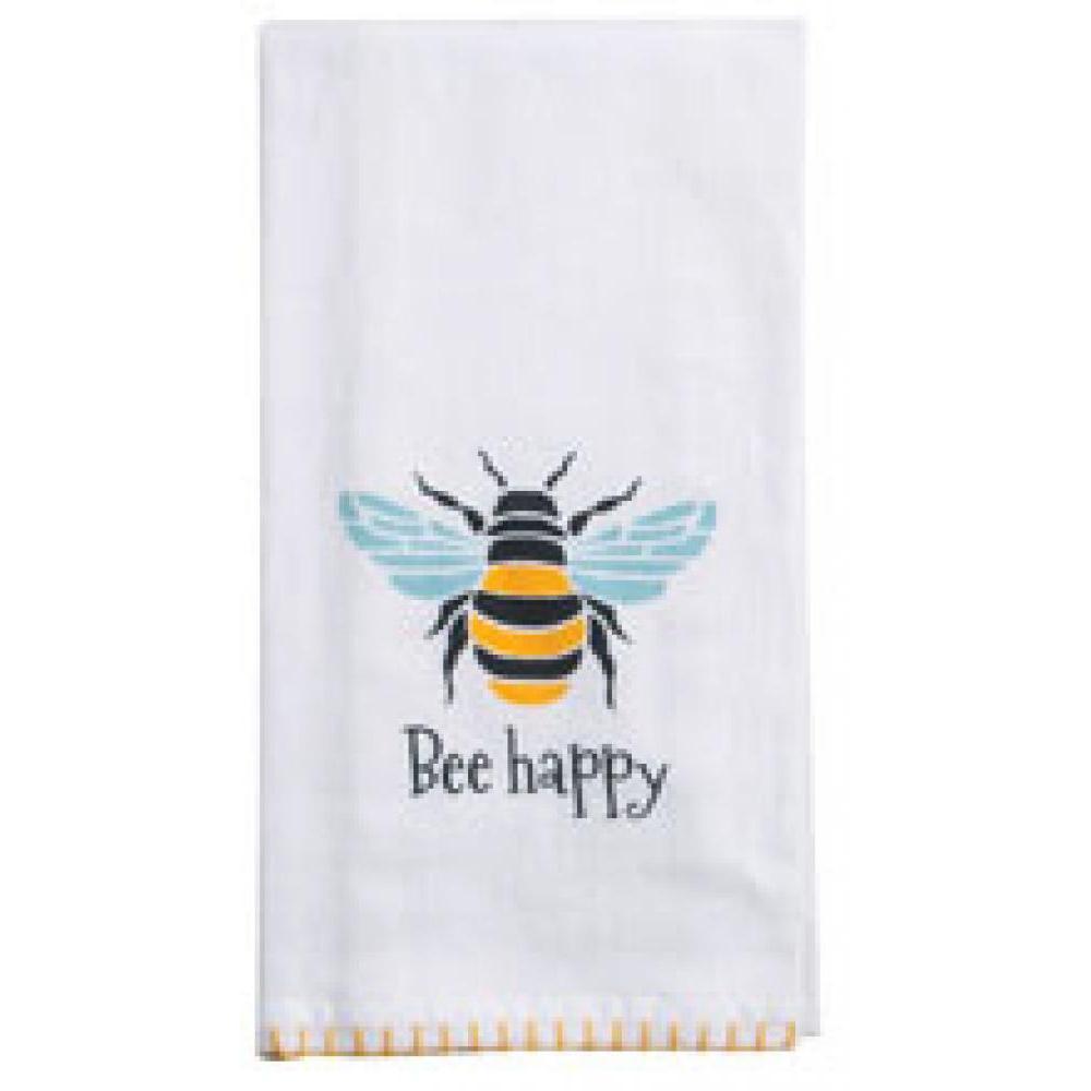 Towel - Flour Sack - Garden Bee