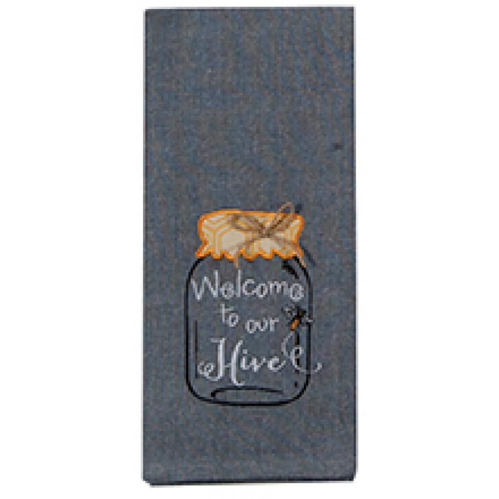 Tea Towel - Hive Emblem