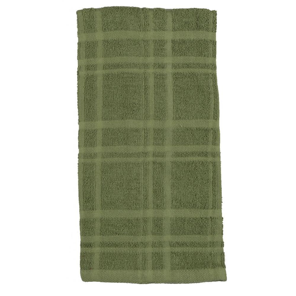 Towel - Terry Solid - Kitchen Basics Meadow 2 Piece