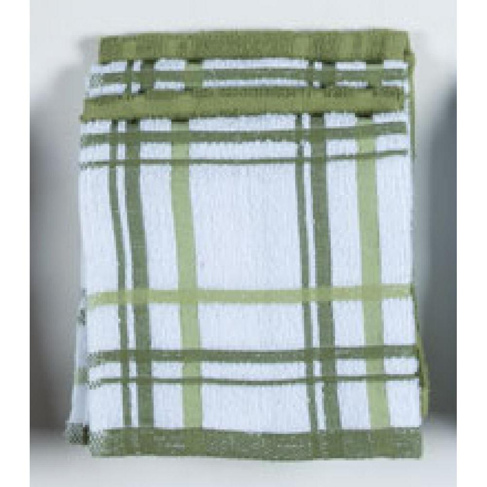 Dish Cloth - Meadow Windowpane 4 Pk
