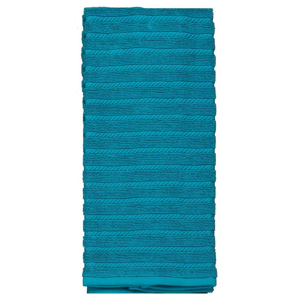 Towel - Terry - Cook\'s Kitchen Teal Textured