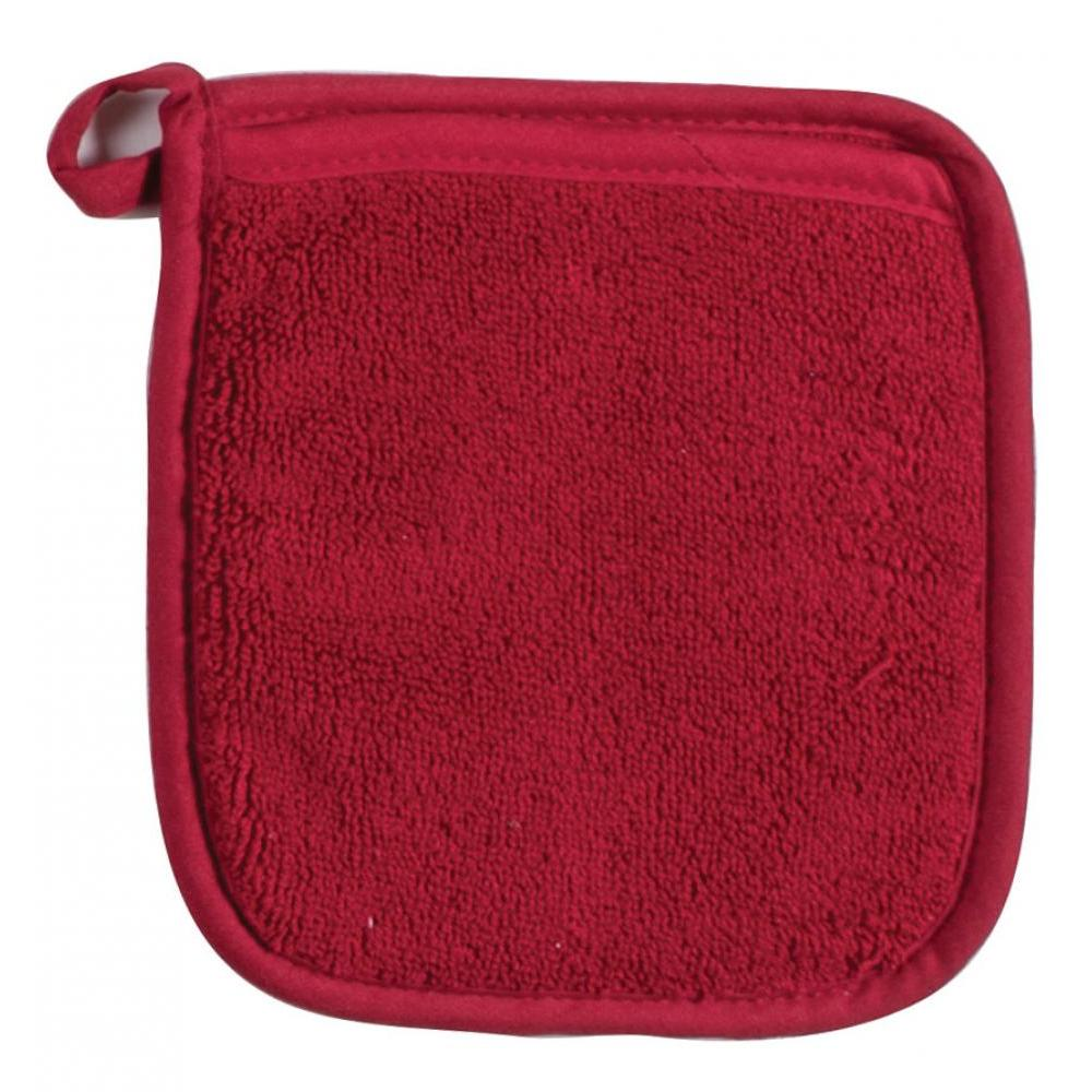 Oven Mitt - Cinnabar Terry Pocket