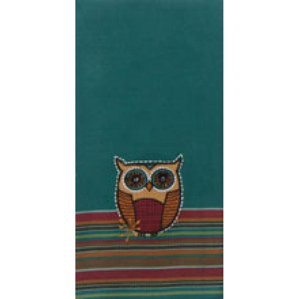 Tea Towel - Owl Applique