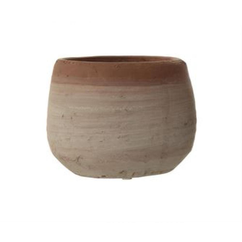 Planter - Terracotta Whitewashed
