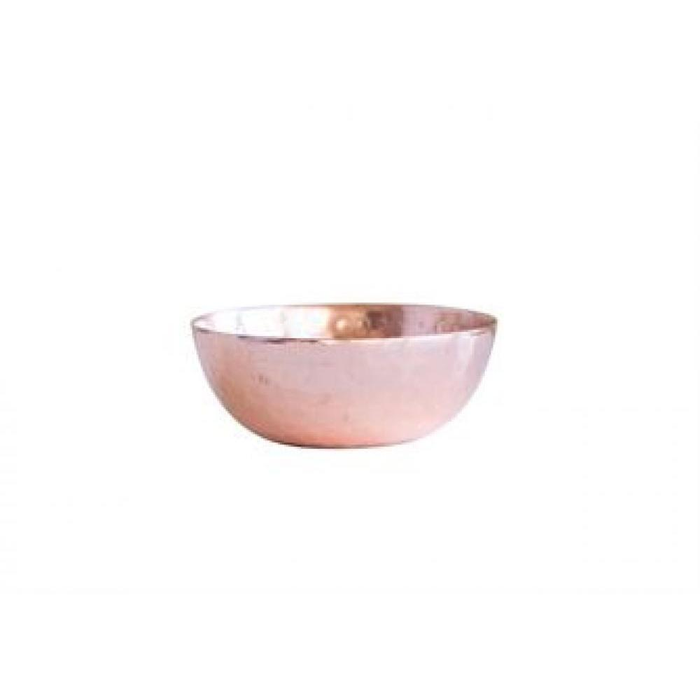 Dinnerware - Pinch Pot Metal Hammered Copper