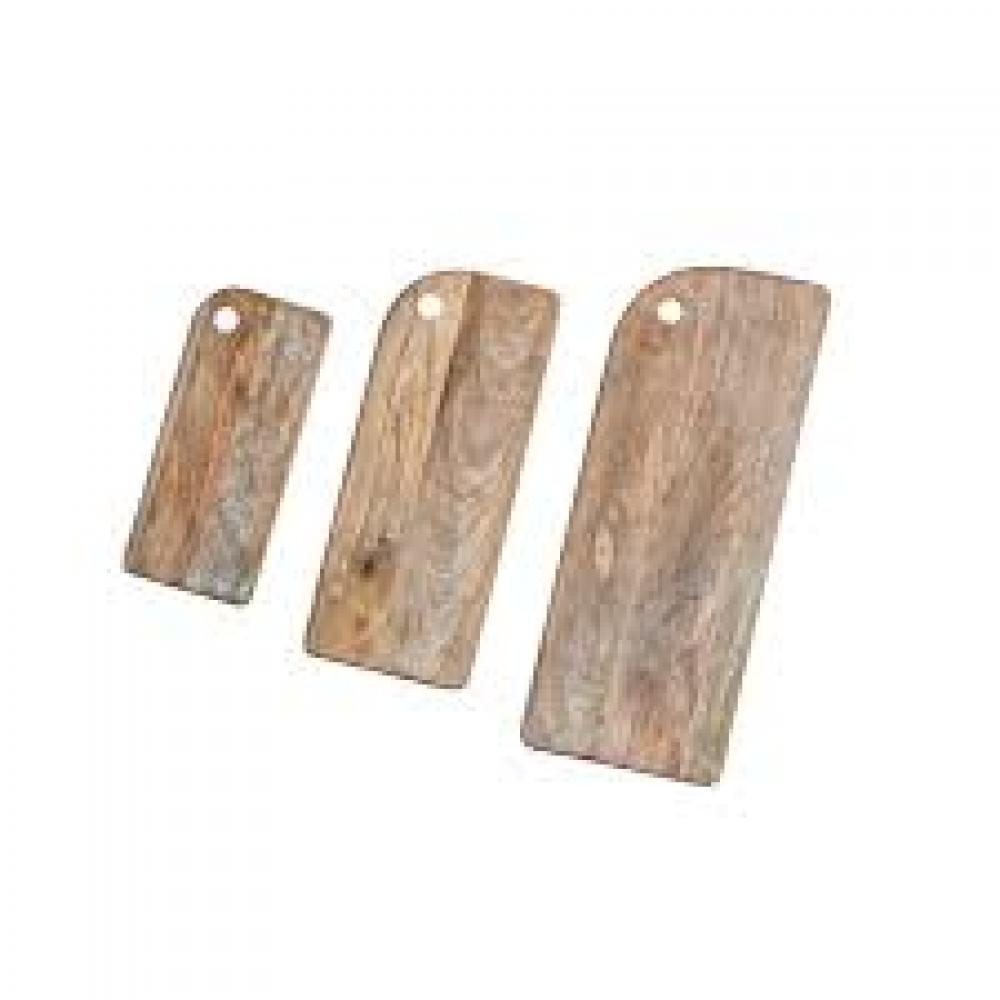 Cutting Board Mango Wood Set of 3
